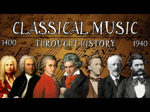 Classical Music Throught History (1400 - 1940)
