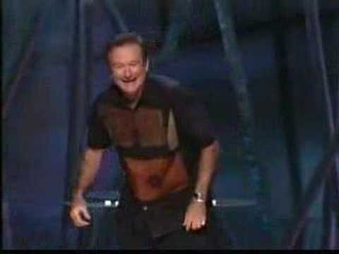 Robin Williams on Golf (Live On Broadway)