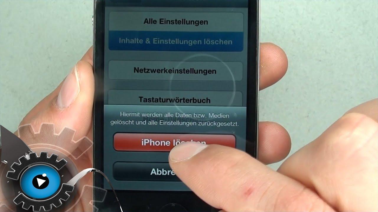 apple iphone 4s fotos löschen
