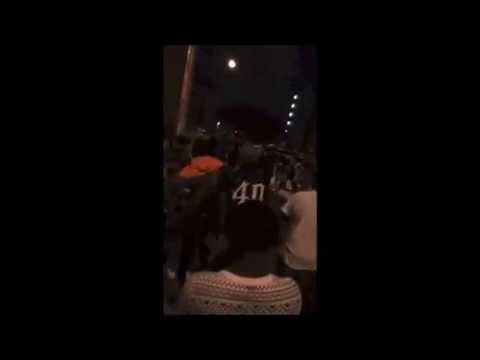 Southern University Fight in Baton Rouge, March 2015