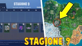 FORTNITE - SEASON 9 - ALL THE BATTLE PASS - MAP CHANGES AND IMPRESSIONS