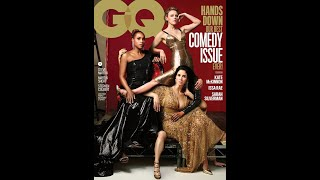 GQ cheekily mocks Vanity Fair for its 2018 comedy issue cover featuring a series of phantom limbs
