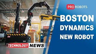 New Boston Dynamics robot | Elon Musk News | Autonomous robots // Technology News
