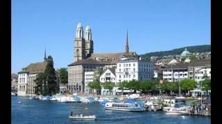 Stadt Zürich in der Schweiz