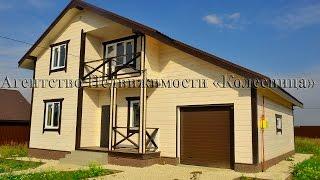 видео Дома из бруса с гаражом: двухэтажные и одноэтажные проекты с мансардой под одной крышей