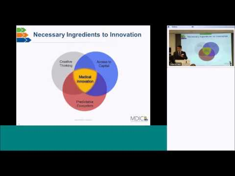 MDIC 2015 Annual Public Forum - Clinical Trial Innovation and Reform project update