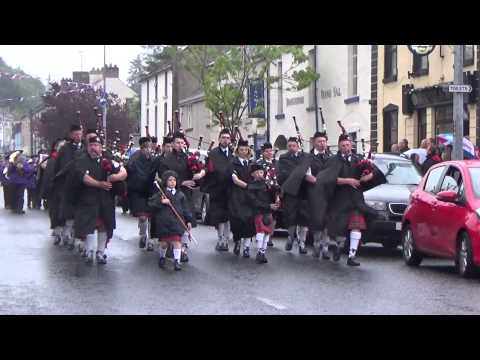Barr Jubilee Pipe Band @ Brookeborough District Parade 2015