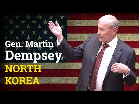 How does the US respond to North Korea developing ballistic missiles | Gen Martin Dempsey (2017)