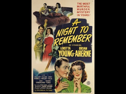 ❤️1942 Classic Comedy/Mystery based on novel,