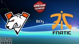[RU] Virtus.pro vs. Fnatic - DreamLeague Season 11 BO3 @4liver