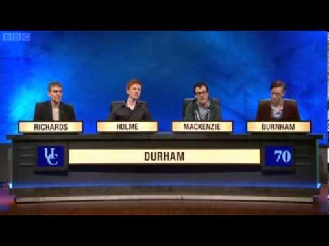 University Challenge   S43E4   Durham vs  Queens', Cambridge