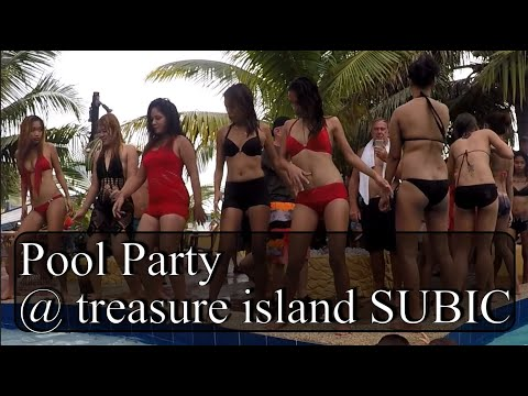 Pool Party in Subic Barreo Baretto ( Philippines )