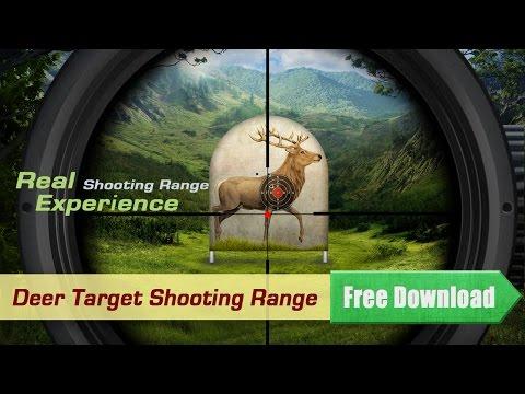 Target Shooting : Deer - Gun Range Practice Simulator Game App