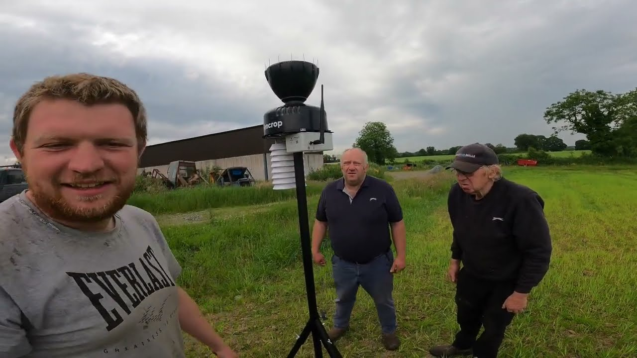 BEANS TO BEAT BANAGHER!!! FARMER PHIL'S WEATHER STATION — SENCROP