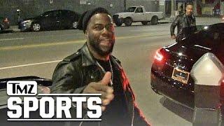 KEVIN HART -- PRAYING FOR DEREK CARR 'Even Though I'm No Raiders Fan' | TMZ Sports