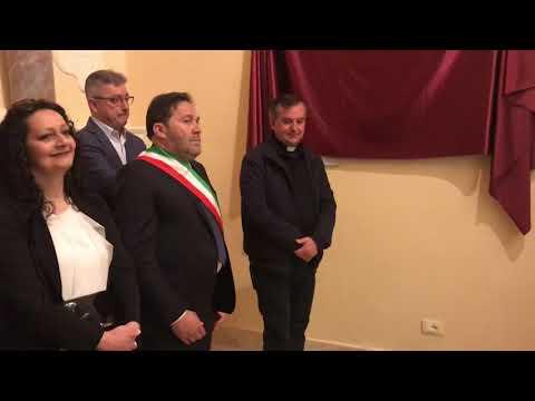 GUGLIONESI COMUNE INFORMA- Cerimonia Inaugurazione Lapidi Commemorative