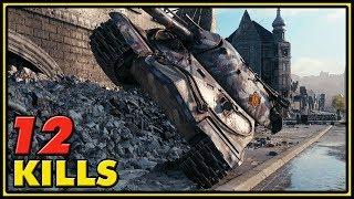 IS-7 - 12 Kills - World of Tanks Gameplay