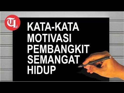Kata Kata Bijak Sebagai Pembangkit Hidup Tribun Lampung News Video