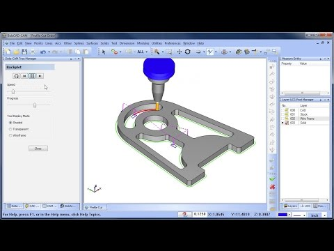 Cut Order for Profiles - BobCAD-CAM Quick Tip