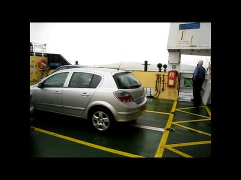 Houton to Hoy(Lyness) Ferry in Orkneys