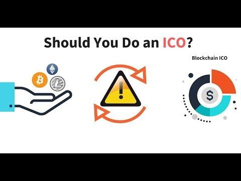 Should You Do an ICO?