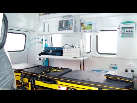 Медики Верхней Салды получили новый автомобиль скорой помощи