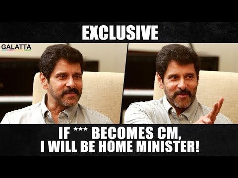 Breaking | Chiyaan Vikram on politics, films and prank calls! Galatta With Aruna