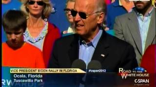"Biden In FL Cites Cleveland Plain Dealer, ""One Of The Major Newspapers In This State"""