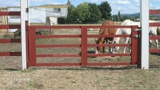How To Fix A Sagging Gate Using Cable And Turnbuckle