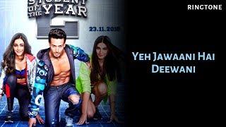 Yeh Jawaani Hai Deewani New Ringtone 2019 🎵🔥🔥(Download link in Description)
