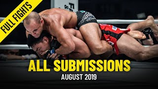 All Submissions In August 2019 | ONE Full Fights