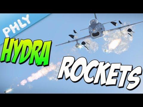 HYDRA ROCKETS | G-91 Ground Strike (War Thunder Gameplay)