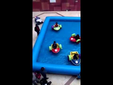 Water boat for kids of ugly games at gold souk mall, ludhia