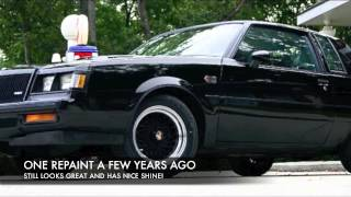 1987 BUICK GRAND NATIONAL FOR SALE!