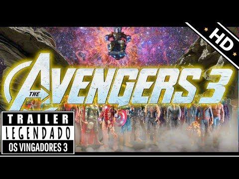 OS VINGADORES 3 - GUERRA INFINITA - Trailer legendado