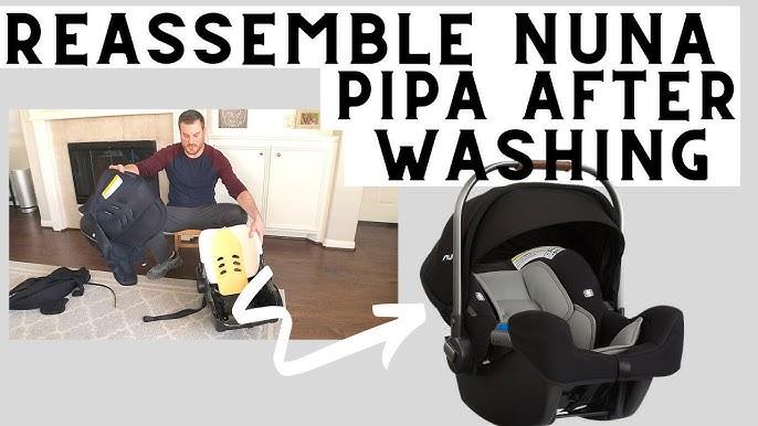 Put Back Nuna Pipa Lite Cat, Nuna Pipa Car Seat Cover