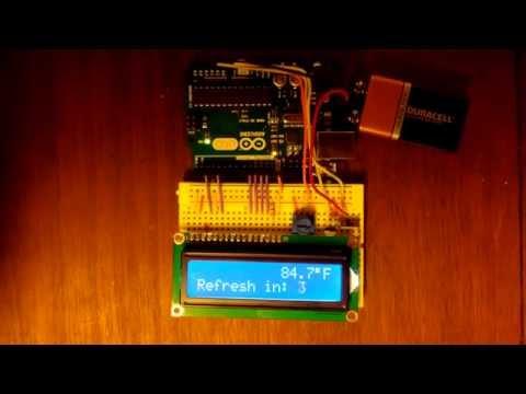 Arduino Temperature Readout