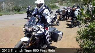 MotoUSA 2012 Triumph Tiger 800 First Ride