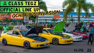A CLASS TEGZ 1st official link up (ochi Rio's invasion)