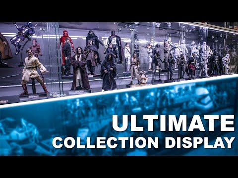 Hot Toys Collection Display Upgrade  DIY