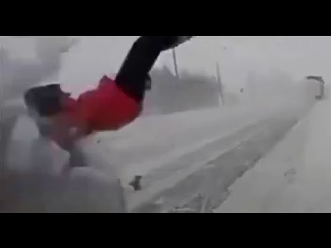Scary car crash compilation 8. Worst brutal ice and snow crashes. Viewer discretion is advised.