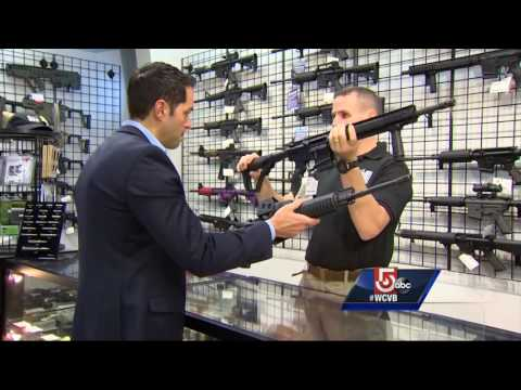 Assault Weapons Are Banned In Mass., But There Is A Catch