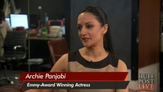 Archie Panjabi Reacts To Indian-American Miss America | HPL