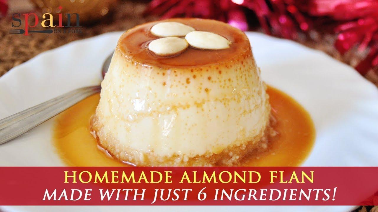 #recipe #dessert #almondflan