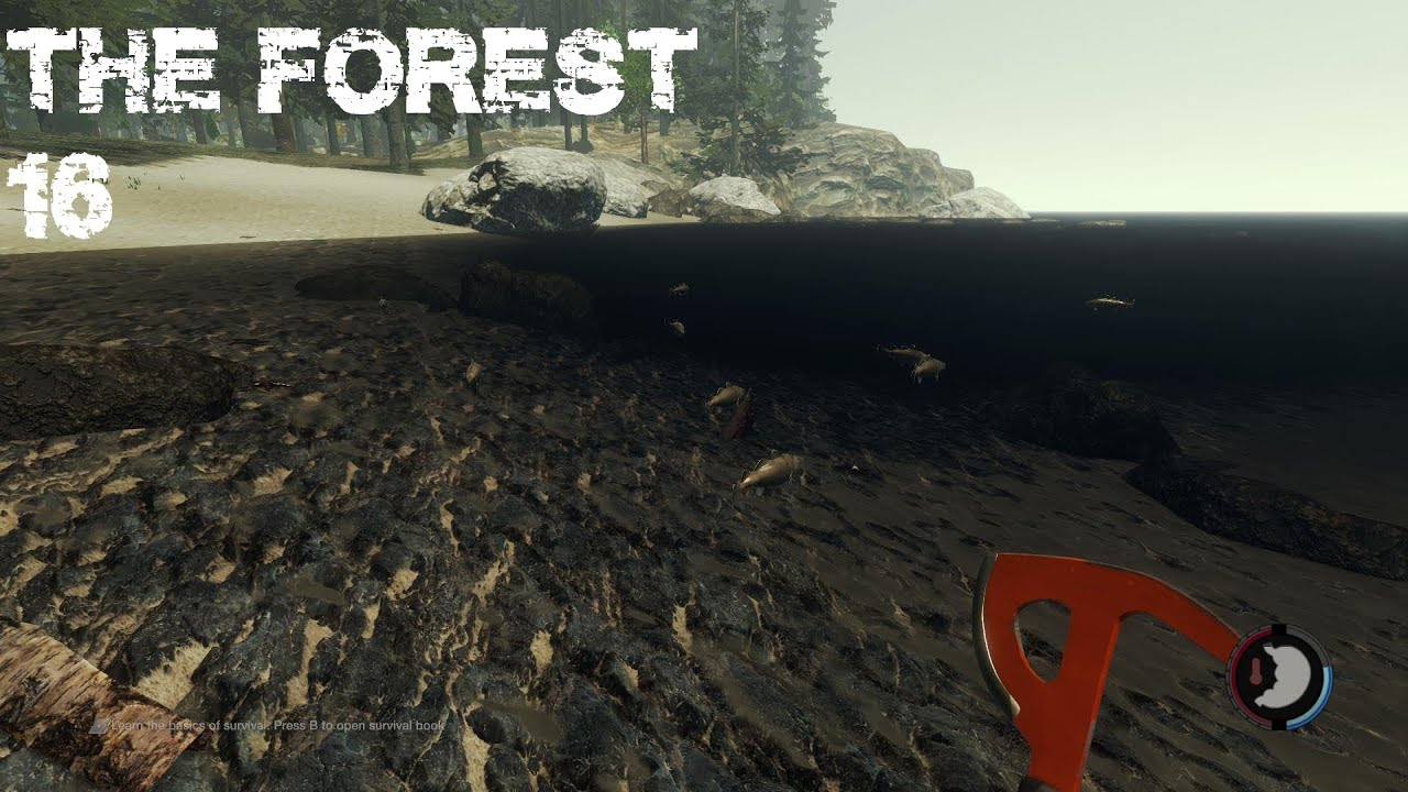 Moderne Axt  The Forest [16]  Youtube