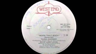 Taana Gardner - Work That Body
