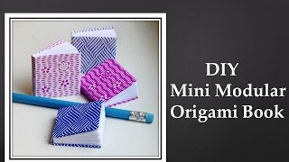 Diy - Mini Modular Origami Book (easy)