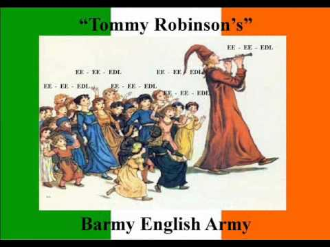 """Song: Irish """"Tommy Robinsons"""" barmy English army - The Famous EDL"""