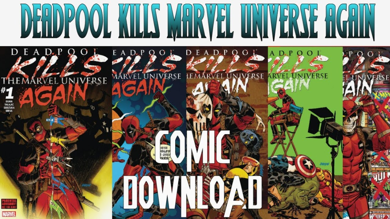 Deadpool Kills Marvel Universe Comic Pdf