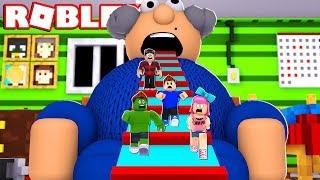 ESCAPE DALLA DANGEROUS GRANDPA's HOUSE a ROBLOX!!! (Fuga nonno casa Obby)